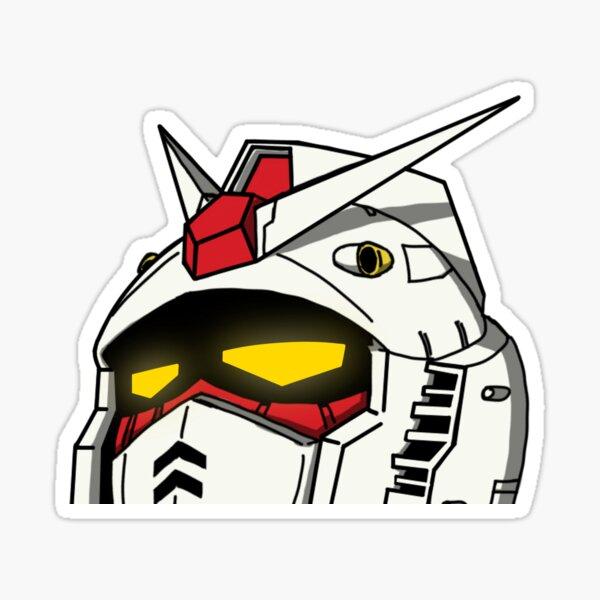 Gundam Peeker Sticker