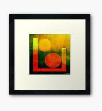 Formes 16 Framed Print