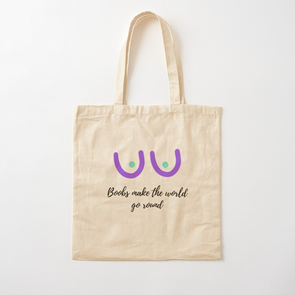 Reusable Canvas Shopping Tote Bag Hand Boobs Canvas Tote Bag Girl Power Gift For Her Feminist Tote Bag Cotton Tote Bag Beach Bag