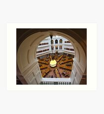 Archway View of Reading Room Art Print