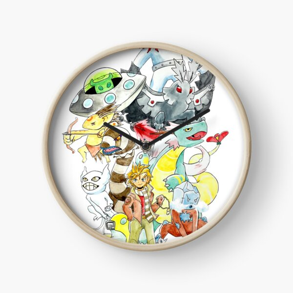 MetaZoo Promotional Image Clock