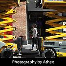 Athex's Exhibition Hanging Space by Shot in the Heart of Melbourne, 2014