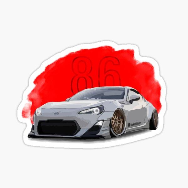 Toyota GT86 Sticker