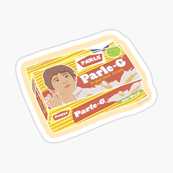 Parle G Cookies/Biscuits Sticker