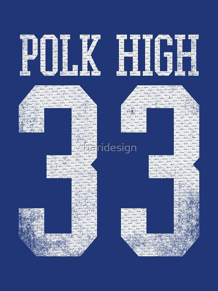 Polk High #33 (AL BUNDY) by baridesign