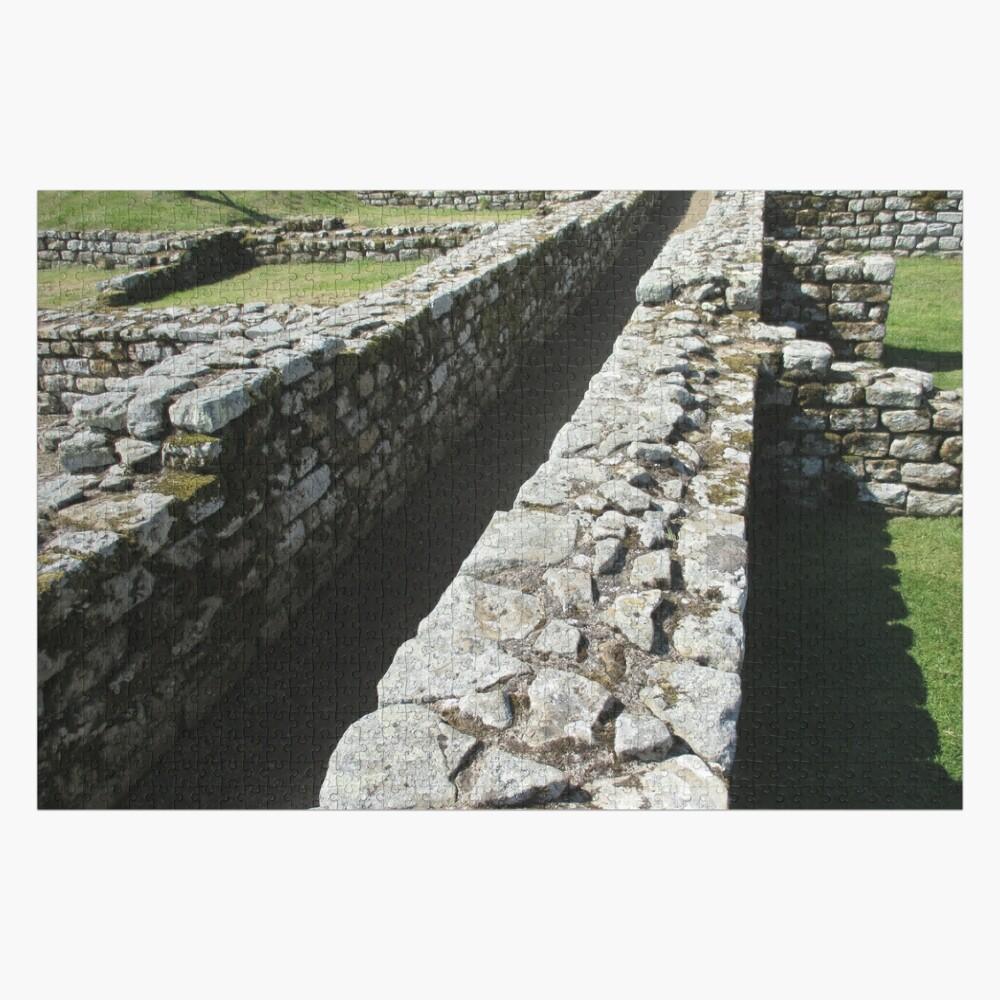M.I. #84 |☼| Rocks And Bricks - Shot 6 (Hadrian's Wall) Jigsaw Puzzle