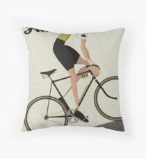 Tour De France Throw Pillow