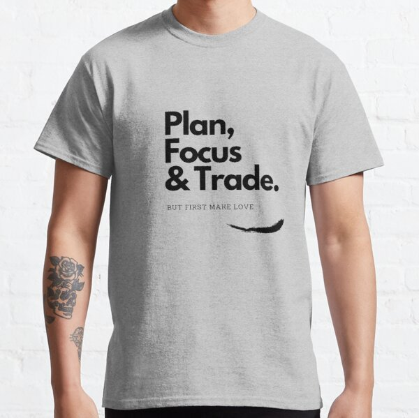 #PlanURtrade T-shirt classique