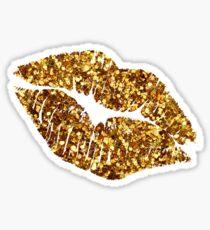 Glitter Lips!   Sticker