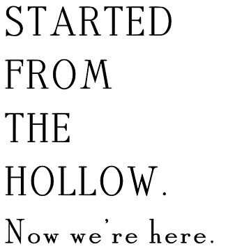 Gilmore Girls - Started from the Hollow by edensutley