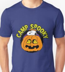 Snoopy Peanuts Camp Spooky Unisex T-Shirt