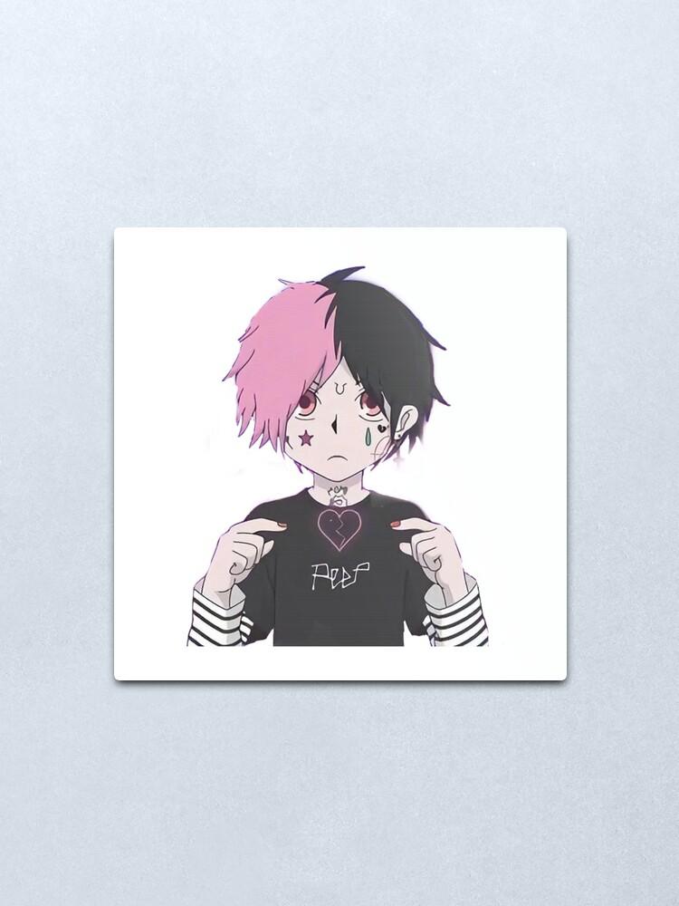 Lil peep anime art