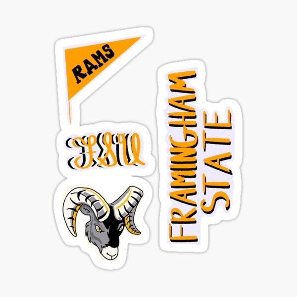 Framingham State University Sticker Pack Sticker