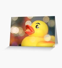 Rubber Ducky, You're The One Greeting Card