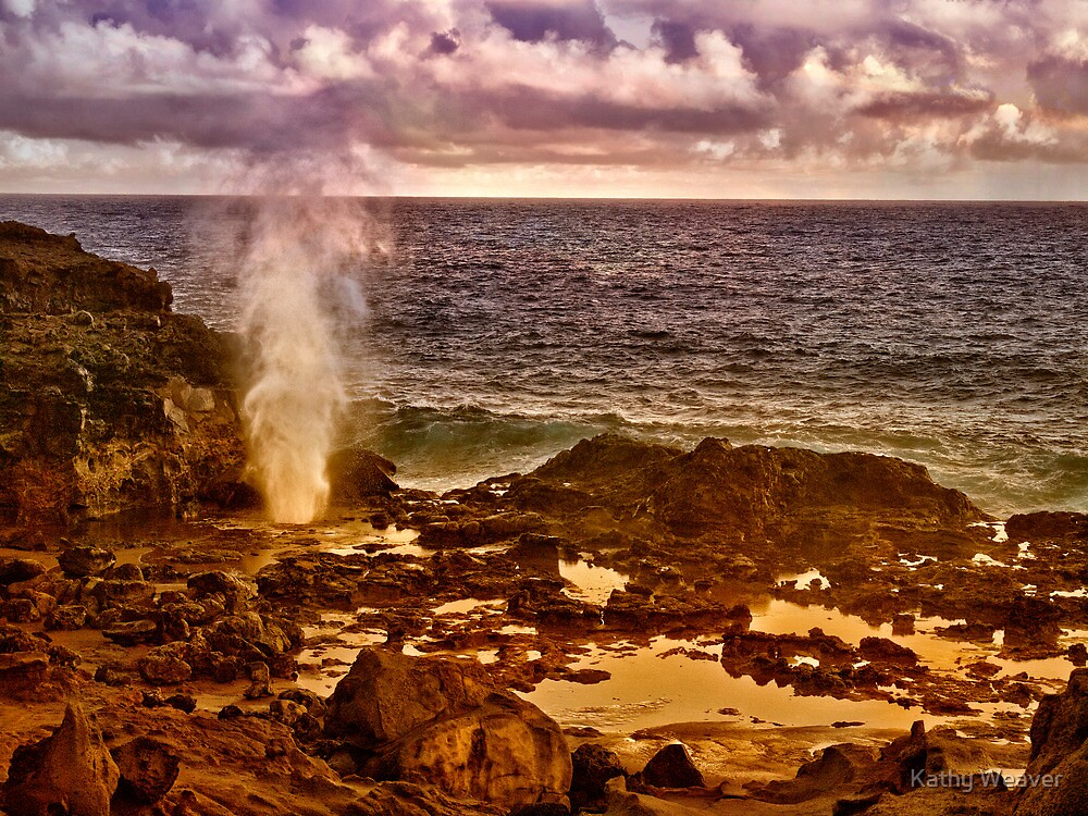 The Blow Hole by Kathy Weaver