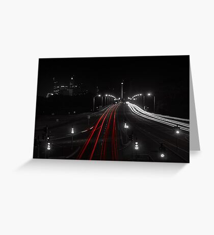The Causeway - Perth Western Australia Greeting Card