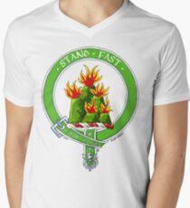 Clan Grant Scottish Crest V-Neck T-Shirt