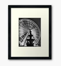The 'Budapest Eye' overlooking Danubius Fountain in Erzsebet Square Framed Print