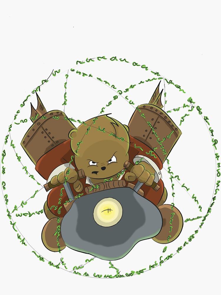 Danger Bear's Time Machine by 55hoser