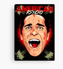 American Psycho Untouched Canvas Print