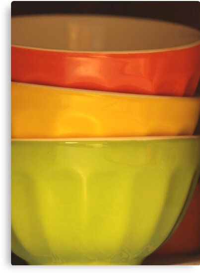Three Bowls by Stephen Thomas