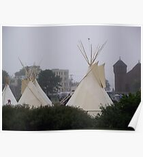 Mikmaq Tents on Halifax Commons Poster