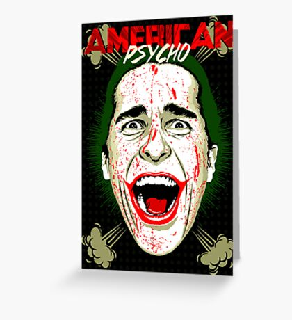 American Psycho The Killing Joke Edition Greeting Card