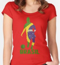 Brasil Women's Fitted Scoop T-Shirt