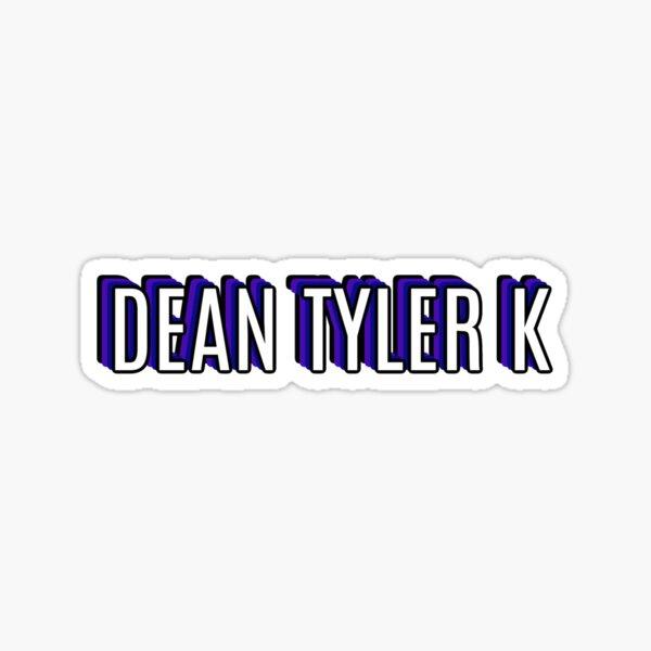 Dean Tyler K (Blue/Purple) Sticker
