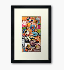 The Worst Collage. Framed Print