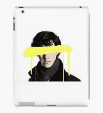 Blind Sherlock iPad Case/Skin