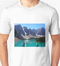 Picturesque Morraine Lake T-Shirt