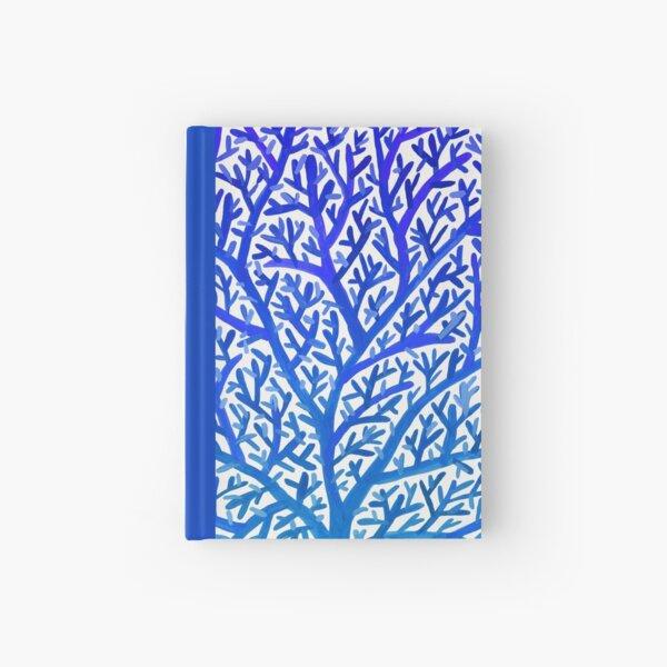 Fan Coral – Blue Ombré Hardcover Journal
