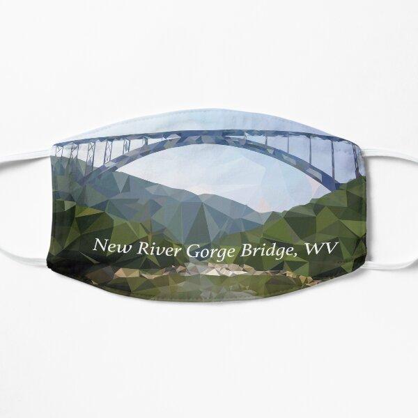 Low-Poly New River Gorge Bridge Flat Mask