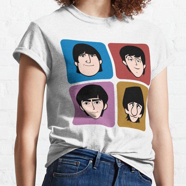 Mañana de un día duro con los cuatro fabulosos. Camiseta clásica