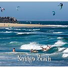 Bodysurfers - Nobbys Beach by reflector