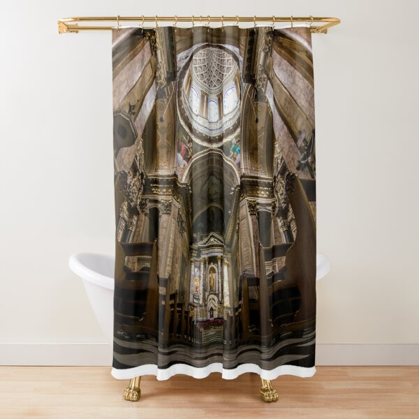 Basilica de San José de Flores - Buenos Aires Shower Curtain
