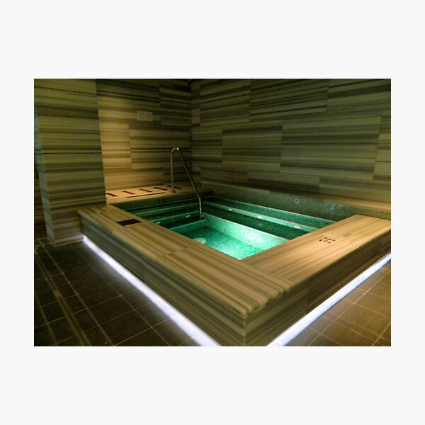 Hot Tub Time!    ^ Photographic Print
