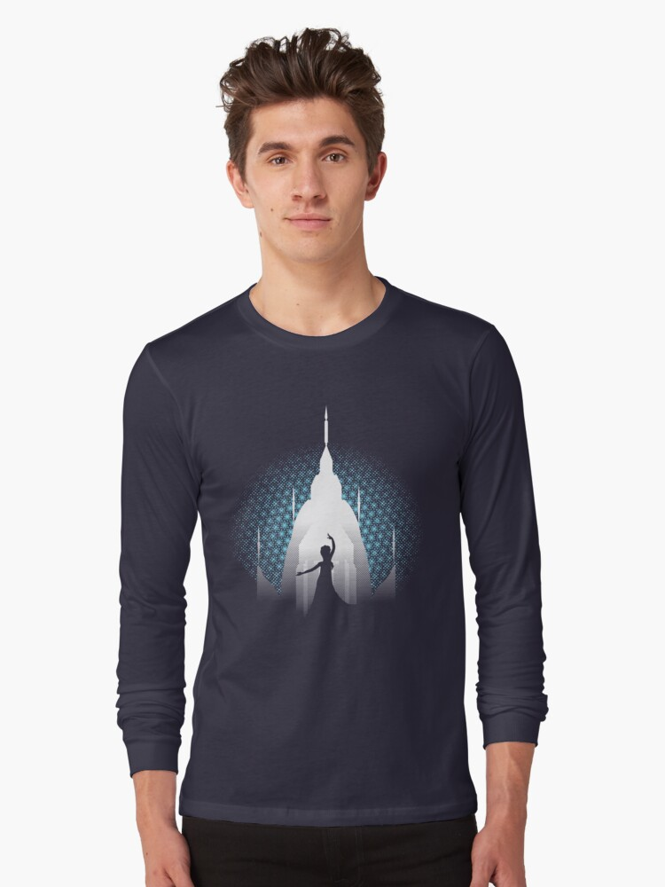 The Cold Never Bothered Me Anyway Long Sleeve T-Shirt Front
