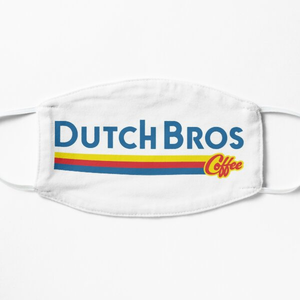 Dutch Bros Coffee Design Flat Mask