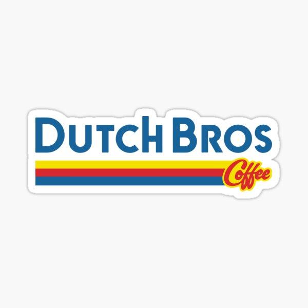 Dutch Bros Coffee Design Sticker