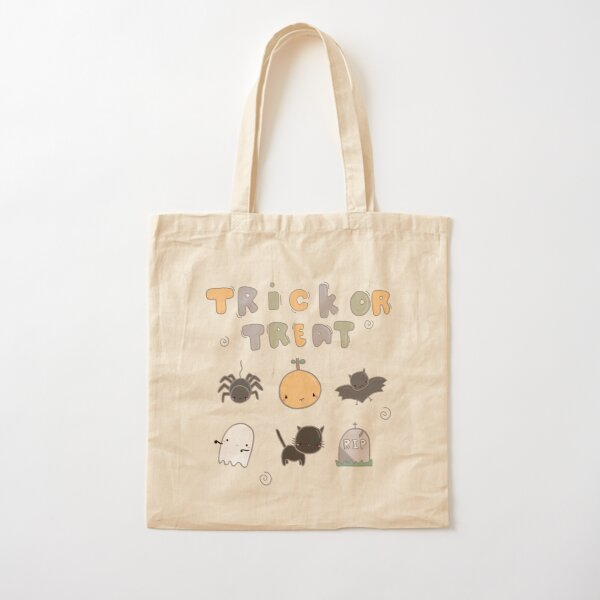 Halloween Trick or Treat  Cotton Tote Bag