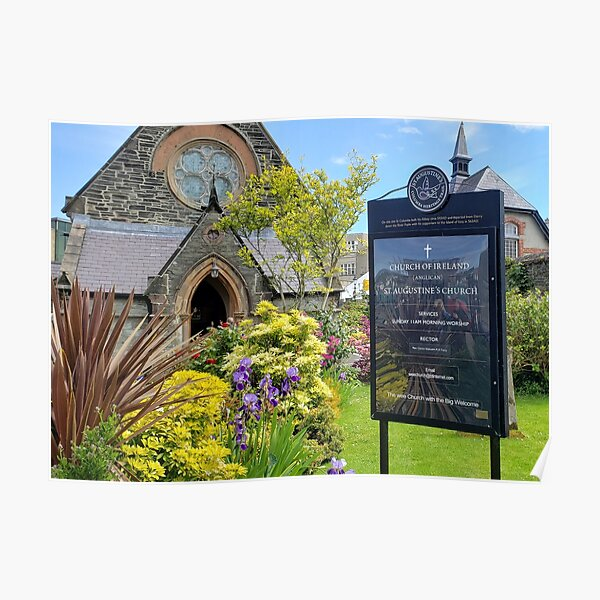 St. Augustine's Church in Derry, Ireland Poster