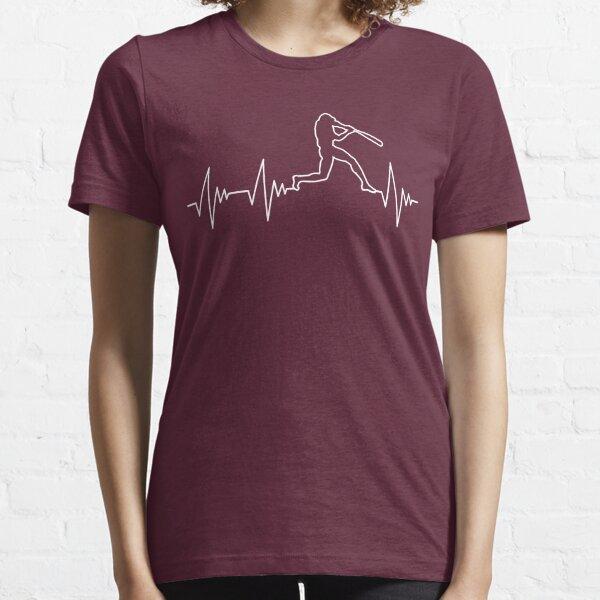 My Heart Beats for Baseball Essential T-Shirt