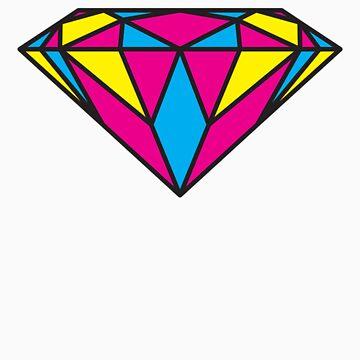 CMYK Diamond by jugend-blitz