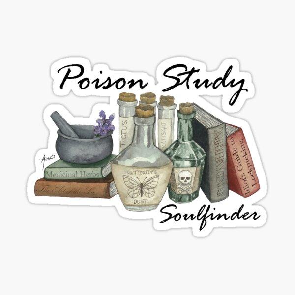 Poison Study Soulfinder Sticker