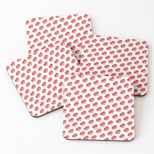 The Spaceman Kiss Band Coasters (Set of 4)