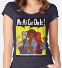 We Can Do It Women's Fitted Scoop T-Shirt