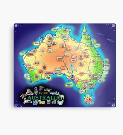 Iconic Australia Metal Print