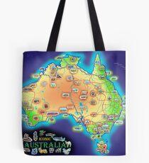 Iconic Australia Tote Bag